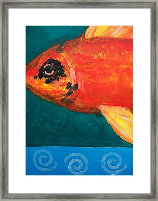 Feesh Framed Print