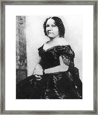 Felicia Grundy Porter Established Framed Print by Everett