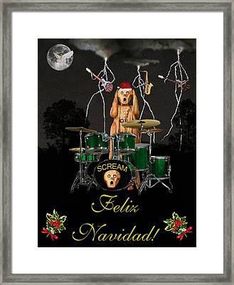 Felix Navidad  Christmas Number One Framed Print by Eric Kempson