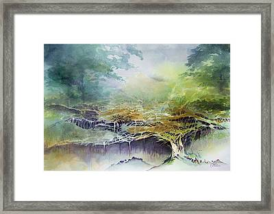 Felon Wood Framed Print by Richard Willows