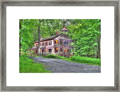 Feltville Historic District Store And Church  Framed Print by Lee Dos Santos