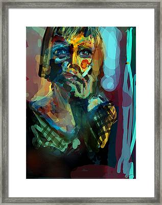 Fem Framed Print by James Thomas