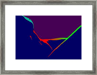 Female Delta Colors 4 Framed Print by Steve K