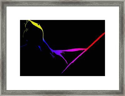 Female Delta Colors Framed Print by Steve K
