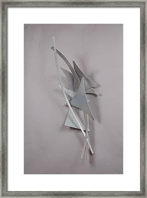 Female Depiction Framed Print by Mac Worthington