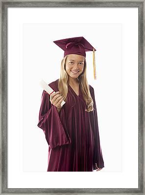 Female Graduate II Framed Print