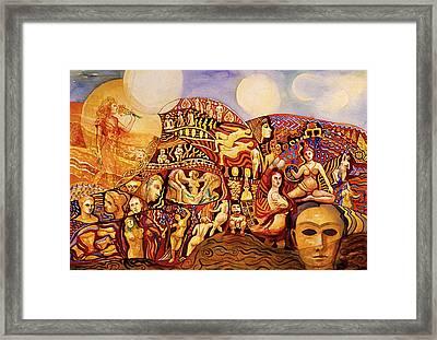 Female Journey Framed Print