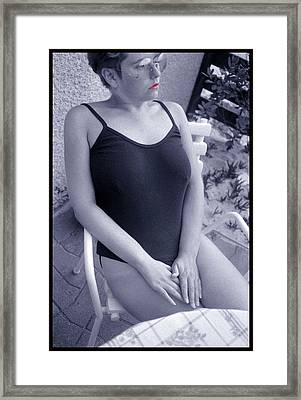 Femme Fatale Framed Print by Franz Roth