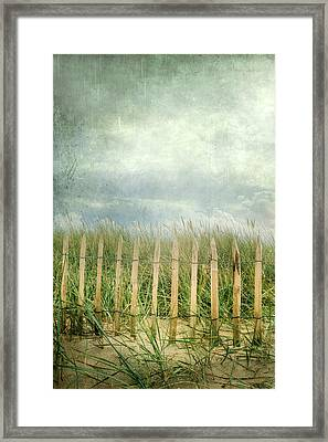 Fence Framed Print by Joana Kruse