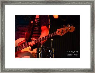Fender Bender Framed Print by Bob Christopher