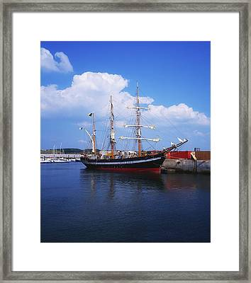 Fenit, Co Kerry, Ireland Famine Ship Framed Print by The Irish Image Collection