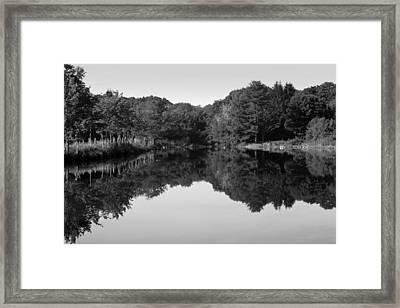 Fenns Pond Framed Print by Karol Livote
