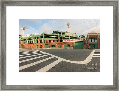 Fenway Park II Framed Print by Clarence Holmes