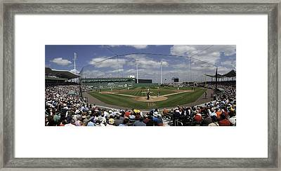 Fenway South Framed Print