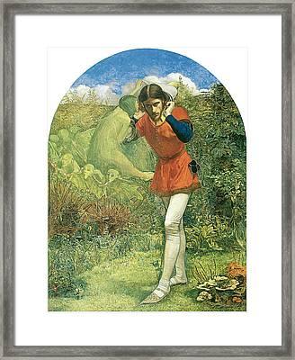 Ferdinand Lured By Ariel Framed Print by John Everett Millais