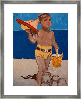 Fernando Framed Print by Azul Fam