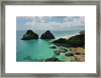 Fernando De Noronha Archipelago Tropical Island Framed Print by by Roberto Peradotto