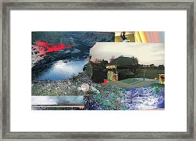Ferndale Moon Jump Framed Print