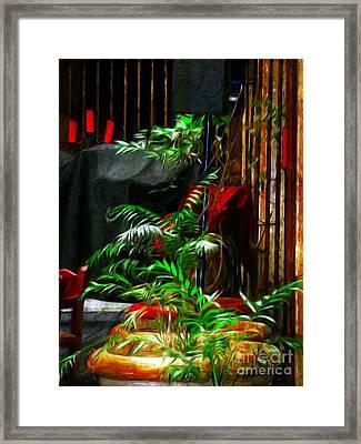 Ferned Joy Framed Print by John  Kolenberg