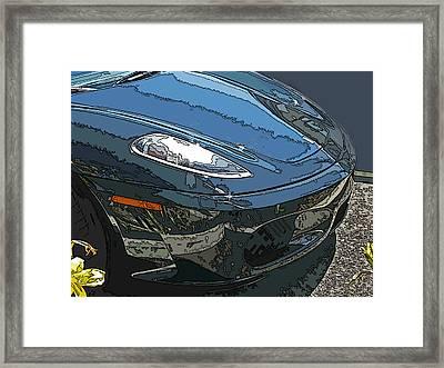 Ferrari 430 Nose Framed Print by Samuel Sheats