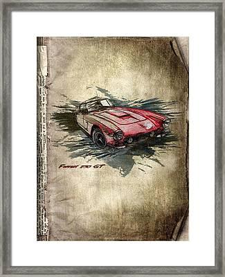 Ferrari Framed Print by Svetlana Sewell
