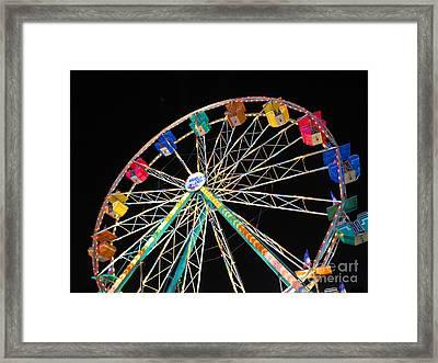 Ferris Wheel II Framed Print by Heidi Hermes