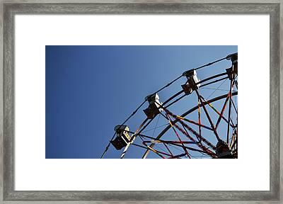 Ferris Wheel Framed Print