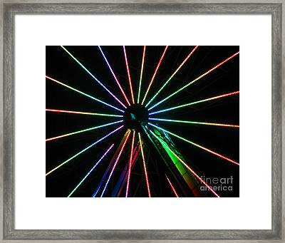 Ferris Wheel Framed Print by Peter Piatt