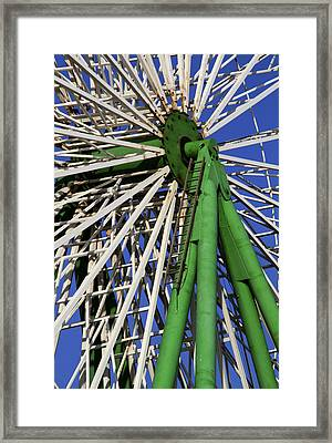 Ferris Wheel  Framed Print by Stelios Kleanthous