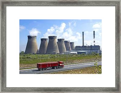 Ferrybridge Power Station Framed Print
