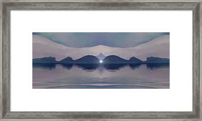 Fertile Hills Framed Print