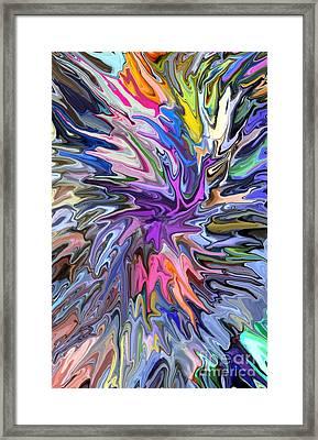 Festival Of Flowers II Framed Print by Chris Butler