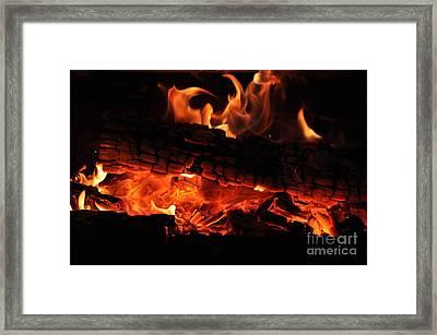 feu Framed Print