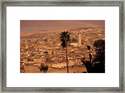Framed Print featuring the photograph Fez by David Harding