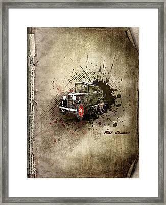 Fiat Classic Framed Print by Svetlana Sewell