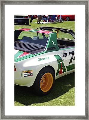 Fiat Dallara Framed Print by Fred Russell