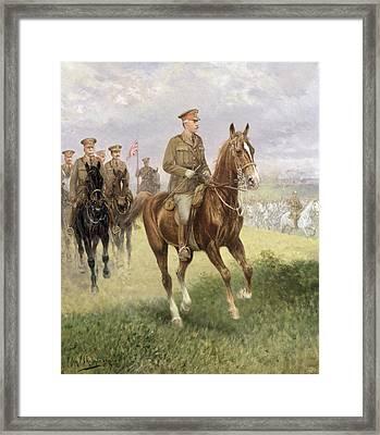 Field Marshal Haig Framed Print by Jan van Chelminski
