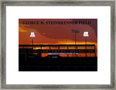 Field Of Dreams Framed Print by David Lee Thompson