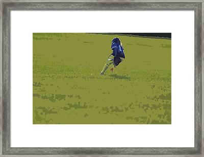 Fielding Framed Print by Peter  McIntosh