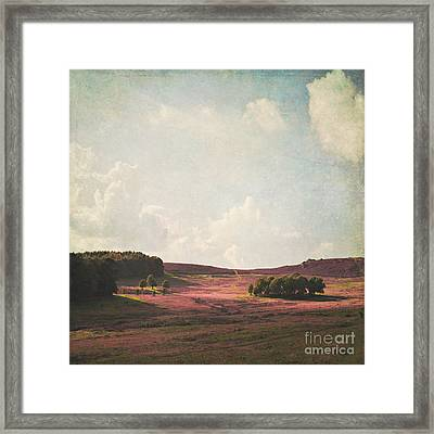 Fields Of Heather Framed Print