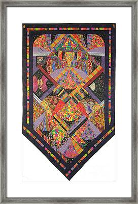 Fiesta De Los Angeles Framed Print by Salli McQuaid