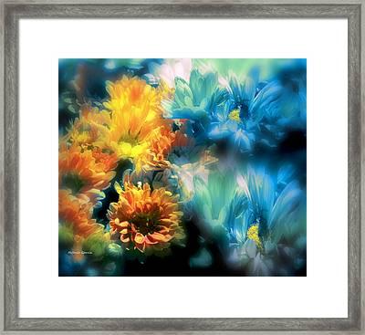 Fiesta Floral Framed Print