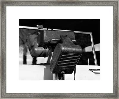 Fifties Drive In Theatre Framed Print