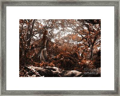 Fig Dryad Framed Print by Jonathan Armes