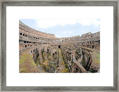 Fighting Time Framed Print by