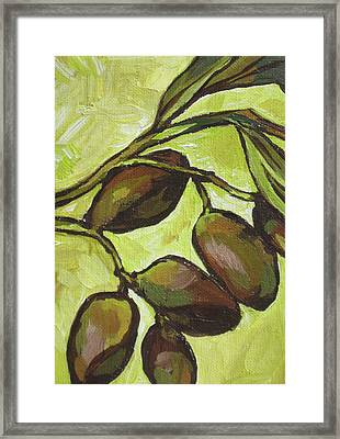 Figs Framed Print by Sandy Tracey