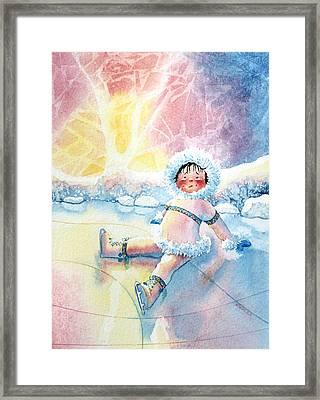 Figure Skater 10 Framed Print