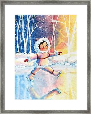 Figure Skater 11 Framed Print