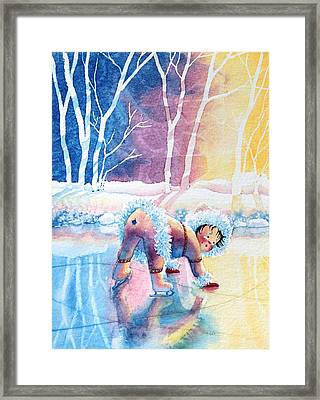 Figure Skater 12 Framed Print
