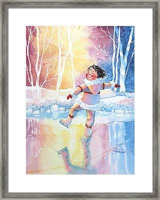 Figure Skater 13 Framed Print